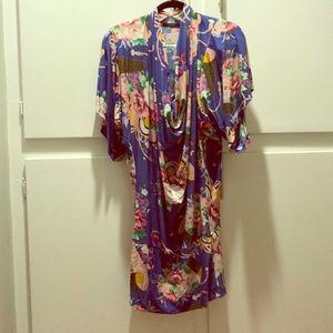 Vertigo Floral Dress